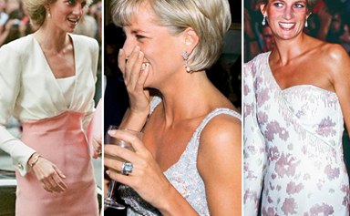 Before Duchess Catherine, Princess Diana owned the ultimate wardrobe of glamorous dresses