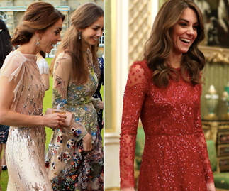 Duchess Catherine has an entire closet full of sparkly dresses that no one has ever seen