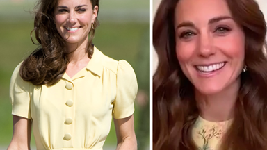 Accident or not, Kate Middleton just revealed an unexpected beauty-related skill in her latest video call - and we're copying it immediately