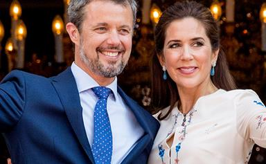 Crown Princess Mary and Crown Prince Frederik share a rare look inside their royal home as they enjoy a romantic night in