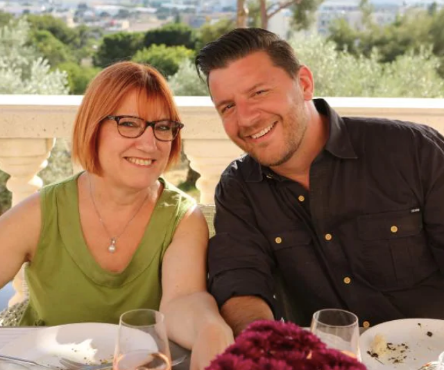 """""""Chemotherapy is a smack in the face"""": MKR's Manu Feildel is supporting his Mum through her cancer battle from the other side of the world"""