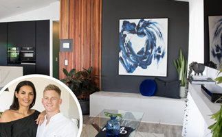 Marble ceilings, minimalist chic and a crown jewel: Inside Tamara and Rhys' House Rules transformation