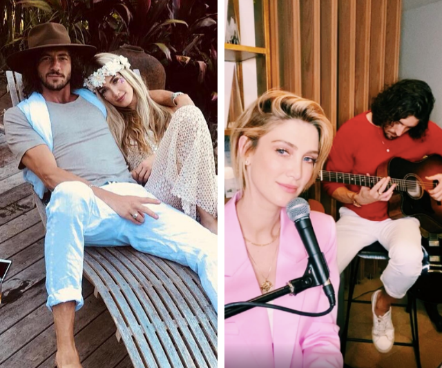 She'd be lost without him! Inside Delta Goodrem's low-key romance with fellow musician Matthew Copley