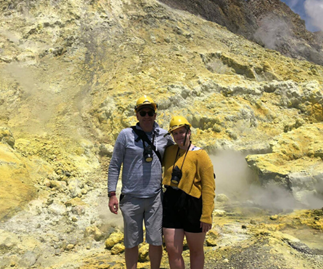 Real life: I survived the White Island volcano eruption