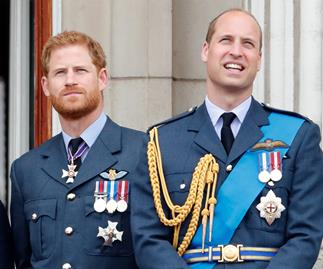 "Healing the rift: Prince Harry and Prince William are reportedly ""back in touch"""