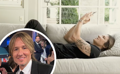 Keith Urban just gave his phone number to fans, so naturally we sent him a text