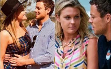 EXCLUSIVE: Home and Away star Sophie Dillman reveals the split-second decision she made with partner and co-star Patrick O'Connor