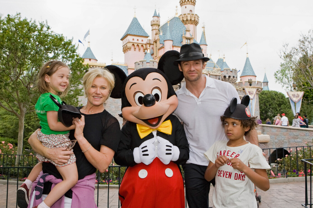 EXCLUSIVE: Hugh Jackman's son reunites with birth family