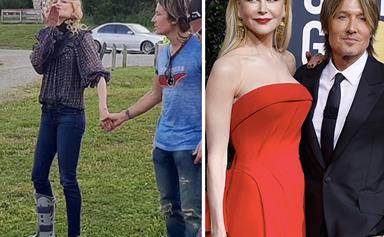 Keith Urban finally explains exactly how Nicole Kidman broke her ankle
