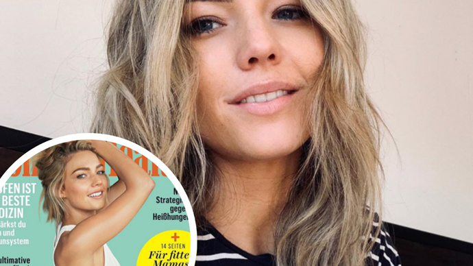 Sam Frost shares the hilarious reality of what really went on behind-the-scenes on her latest cover shoot