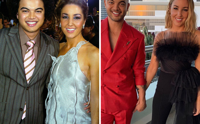 """""""What a wonderful adventure it has been"""": Guy Sebastian and Jules Sebastian's love story in pictures"""