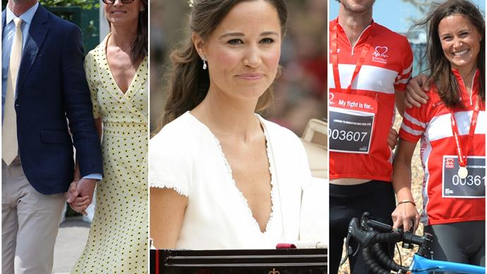 From the world's most famous bridesmaid to the ultimate bride: Pippa Middleton & James Matthews' surprising romance in pictures
