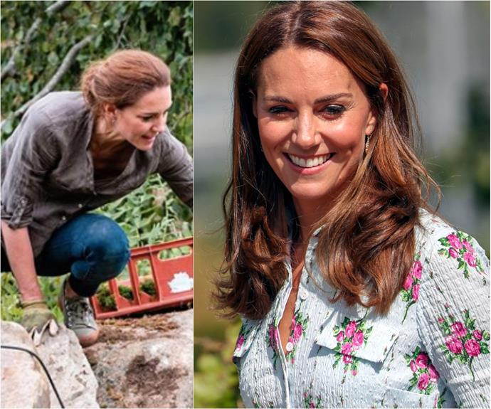 The Palace just dropped a new image of Duchess Catherine like we've never seen her before