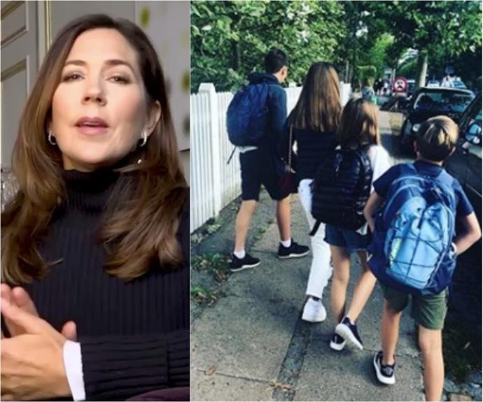Crown Princess Mary's children return to school - but there's a confronting catch