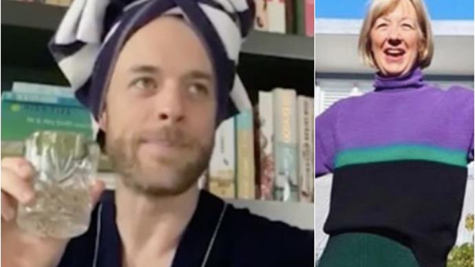 She gave us one of Australia's most loved comedians, and now Hamish Blake's mum is serving up the best lockdown style inspiration