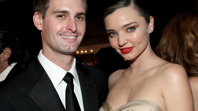 Miranda Kerr reveals she spent her wedding day cooking a roast chicken for her new husband Evan Spiegel