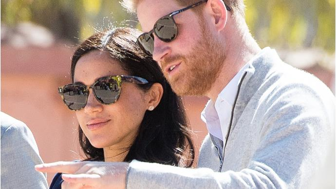 Duchess Meghan recreated one of her and Prince Harry's first dates ... in their backyard