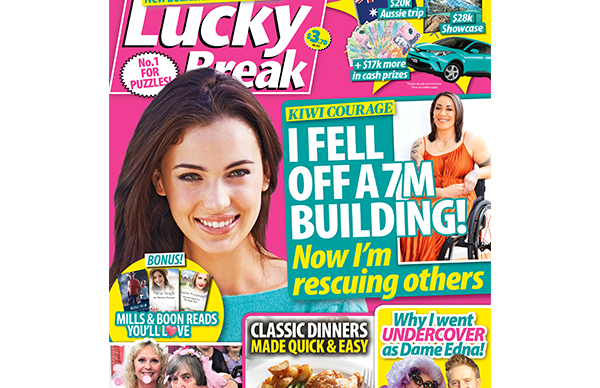 Lucky Break Issue 22 Entry Coupon