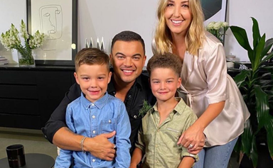 Guy and Jules Sebastian's cutest family moments in pictures