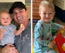 IN PICTURES: Shannon Noll and his mini-me son Colton are the cutest father-son duo ever