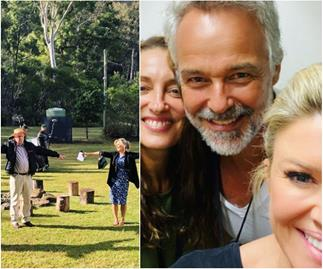 They're back! See the Home & Away cast's best BTS snaps as they return to filming after isolation