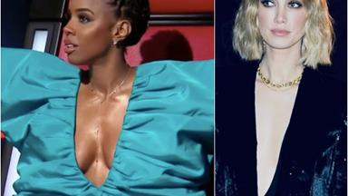 The Voice's Delta Goodrem & Kelly Rowland are hitting all the high fashion notes in these knockout ensembles
