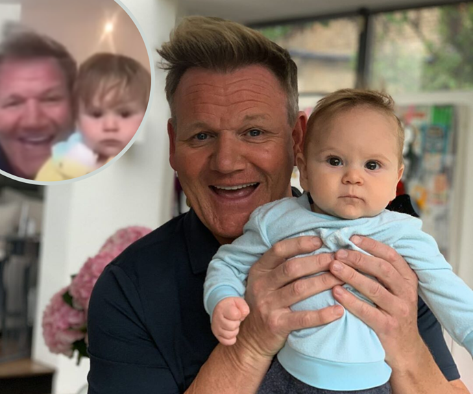 SEE: Pop star's best reaction to Gordon Ramsay's baby son crashing their live TV interview