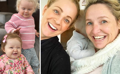Carrie Bickmore and Fifi Box's daughters just had the cutest play date