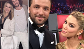 Hands off Delta! Delta Goodrem's boyfriend warns her ex Darren McMullen to stay away, as the former lovers reunite on The Voice
