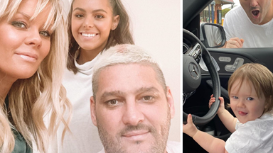 Yeah the girls! Brendan Fevola's best candid snaps with his adorable family