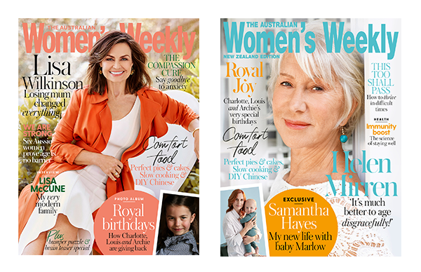 The Australian Women's Weekly June Issue Online Entry