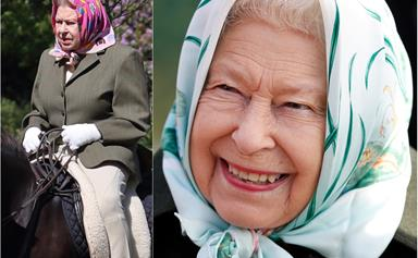 At 94, the Queen proves she's winning at life after being pictured outdoors for the first time since going into lockdown