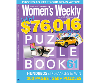 The Australian Women's Weekly Puzzle Book Issue 61