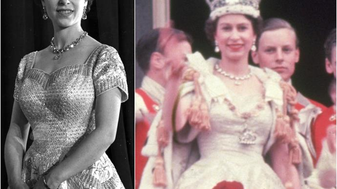Eight months of research and a hidden symbol: The fascinating back story behind Queen Elizabeth II's Coronation gown