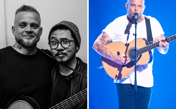 EXCLUSIVE: The Voice star reveals his grief over the tragic loss he shares with coach Guy Sebastian