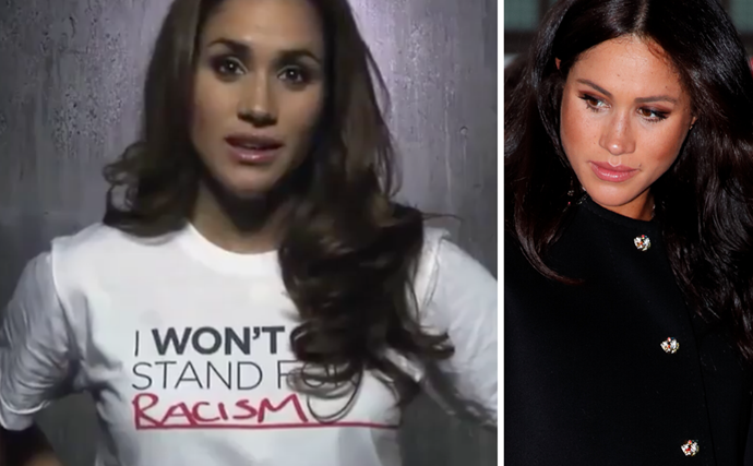 WATCH: Unearthed video of Meghan Markle revealing her own experiences with racism goes viral as #BlackLivesMatter movement sweeps the globe