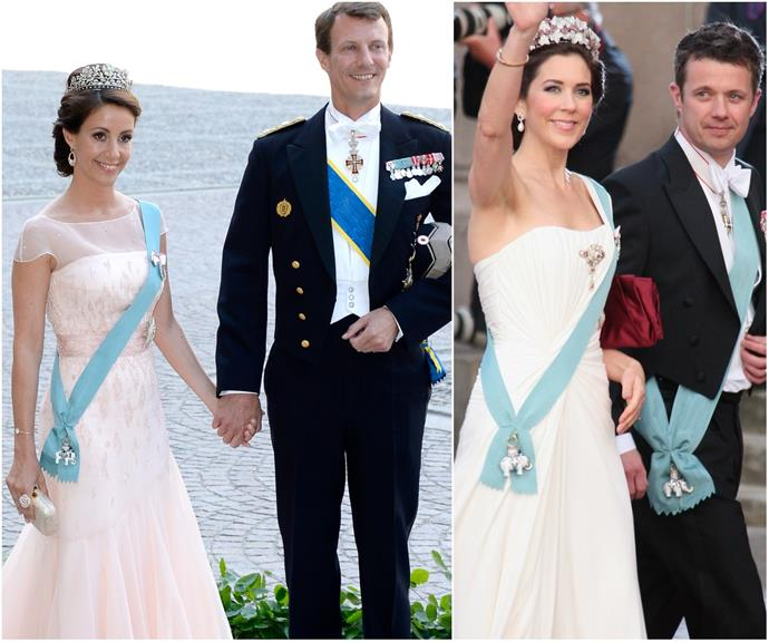 Prince Joachim and Princess Marie of Denmark's family is strikingly similar to Princess Mary's - and the pictures are case in point