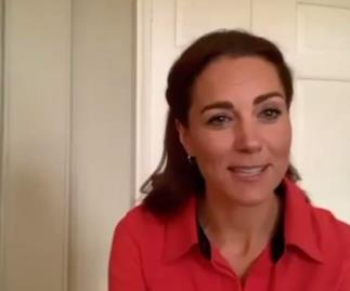 """Duchess Catherine radiates red in a surprise """"virtual tour"""" for a meaningful cause"""