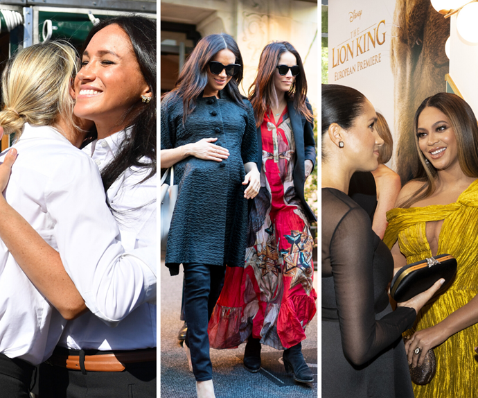 Meghan Markle's list of celebrity friends is absolutely epic, so how can we get in on this group chat?!