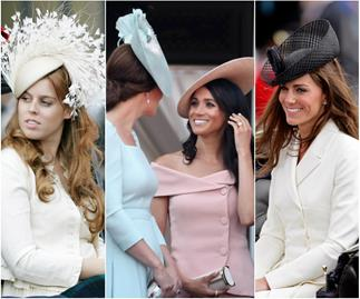 Trooping the colour...ful outfits: The best royal looks from Britain's most iconic parade over the years