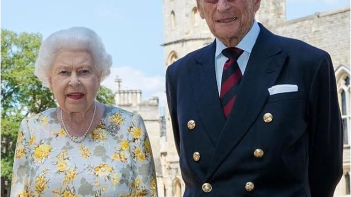 The Palace releases an incredibly rare photo of Prince Philip and the Queen, as he marks his 99th birthday