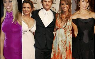 Quiffs, maxi dresses and iconic blue eyeshadow: The cast of Home and Away have delivered an endless fashion spectacle at the TV WEEK Logie Awards over the years