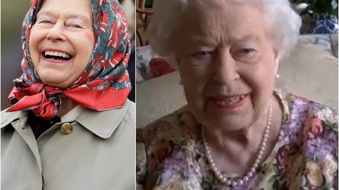 Queen Elizabeth II makes royal history by partaking in a video call - and she passed with flying colours