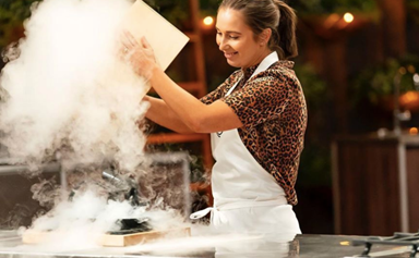 EXCLUSIVE: MasterChef's Laura Sharrad: 'Losing is not an option'