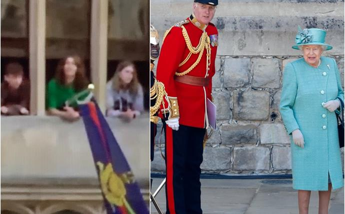The Queen hosted some very special guests for historic Trooping the Colour event - but they weren't family members