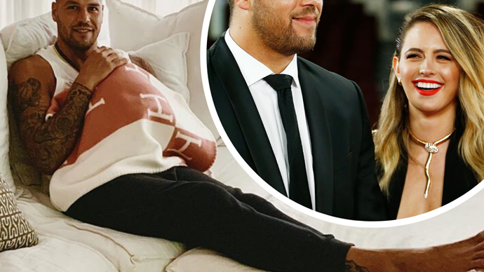 "Buddy Franklin gushes about his ""amazing"" wife Jesinta and newborn daughter in rare personal interview"