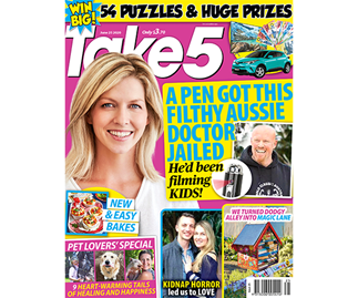 Take 5 Issue 25 Online Entry Coupon