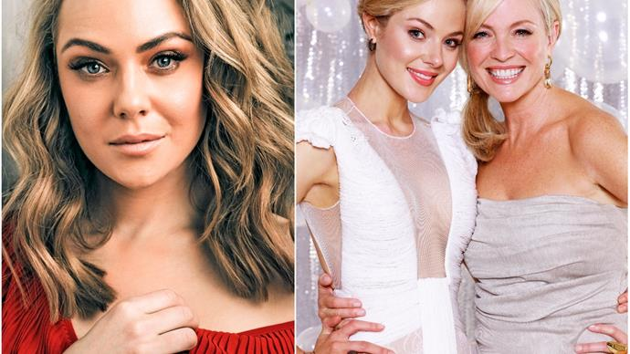 """She took my hand and told me to be calm, because I was so terrified"": Jessica Marais on her very first experience at the TV WEEK Logie Awards"