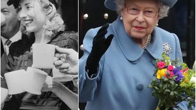 The Queen shares a tribute to iconic wartime singer and friend of the royals Dame Vera Lynn, as she dies aged 103