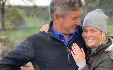 "Samantha Armytage announces her engagement to Richard Lavender: ""What a year!"""